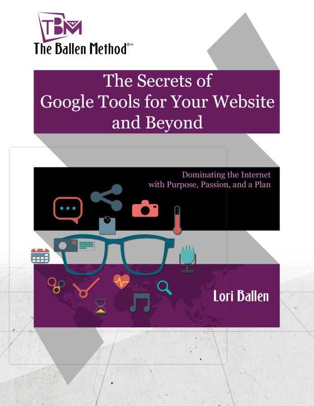 The Secrets of Google Tools for your Website and Beyond Book Cover
