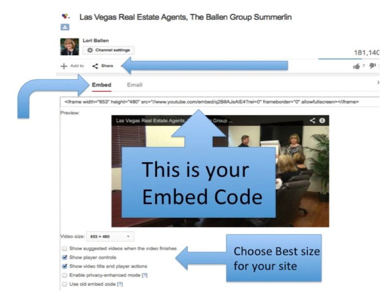 embedding video on wordpress
