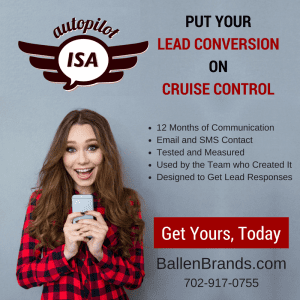 Image advertisement for Autopilot ISA, an automated inside sales agent.
