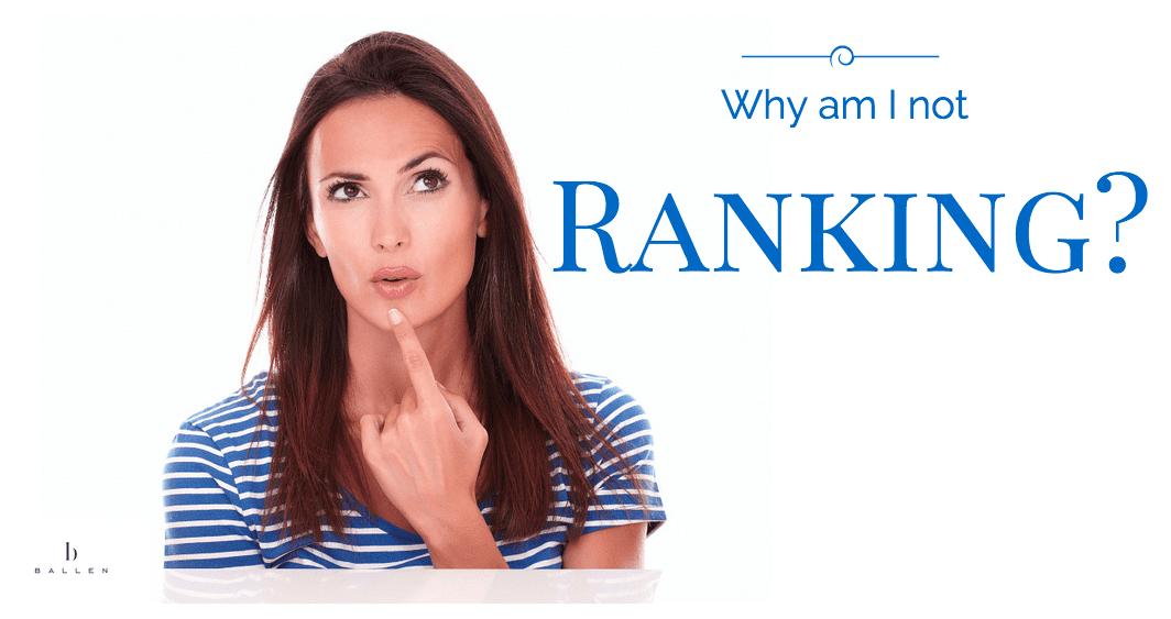Why Am I Not Ranking on Google