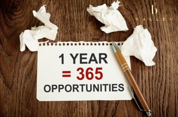365 Days of Opportunity