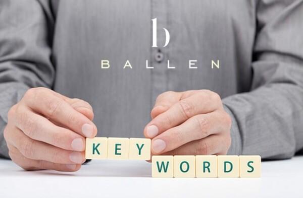 Ballen Keywords