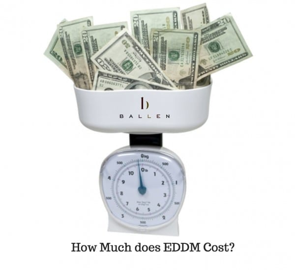 How much does eddm cost