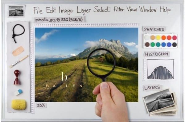 How to Make a Gif, Photoshop Sample