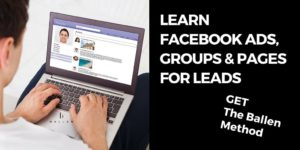CTA - Learn Facebook Ads with The Ballen Method