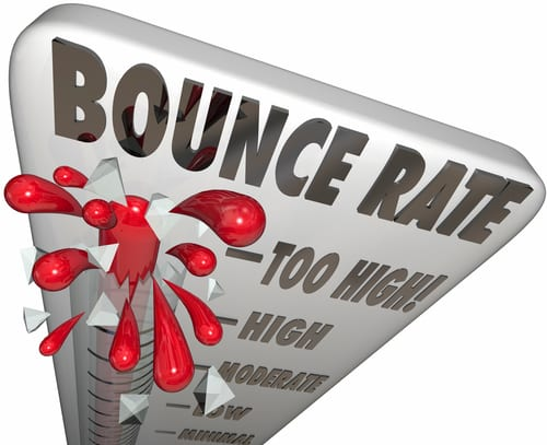 Bounce Rate is Too High