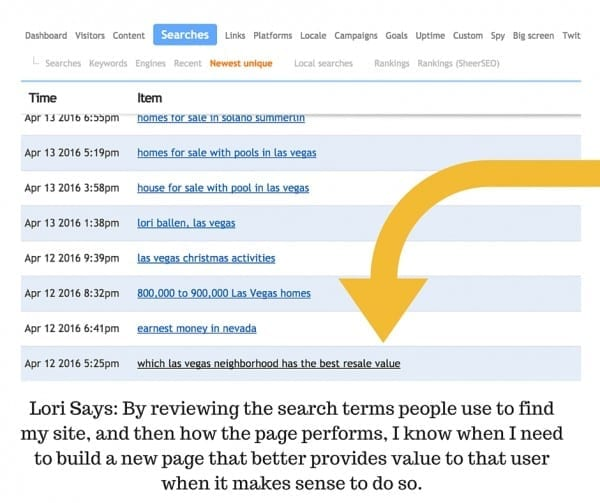 Clicky Search Queries to know What Blog Posts and Pages to Create