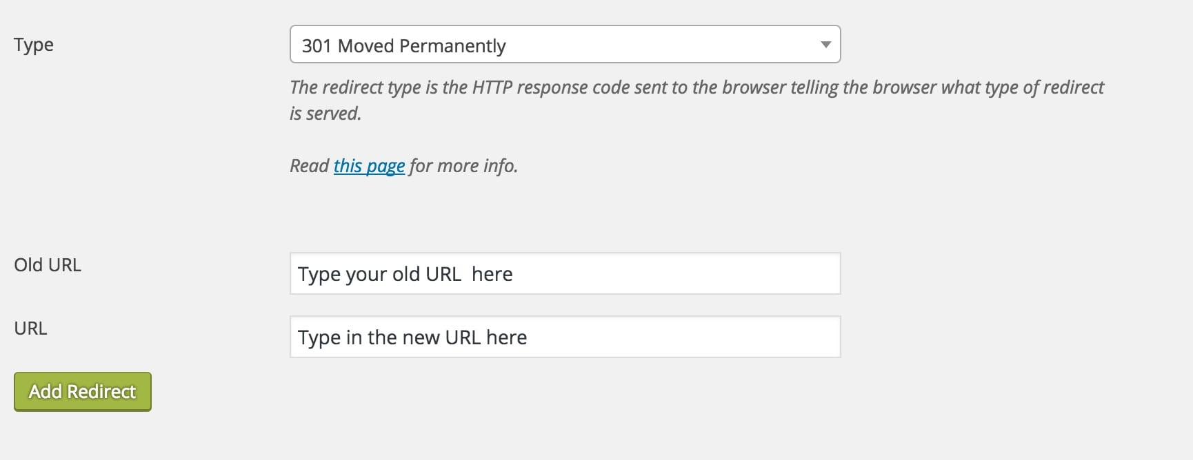 Using Yoast for Redirects