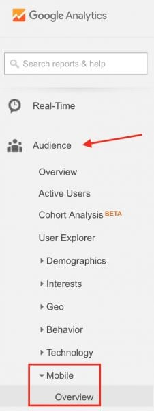 Audience Mobile Overview