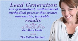 Click the image to learn how to generate more leads with The Ballen Method digital marketing curriculum.