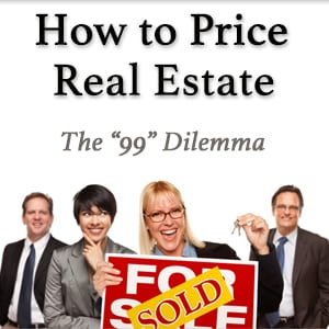Real estate professionals holding a sold sign with text reading How To Price Real Estate