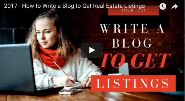 How to write a blog to get seller listings