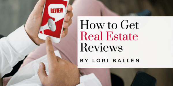 Featured Image: Relaxed person searching smart phone for real estate agent reviews.