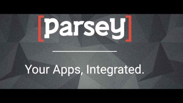 Parsey email integration software