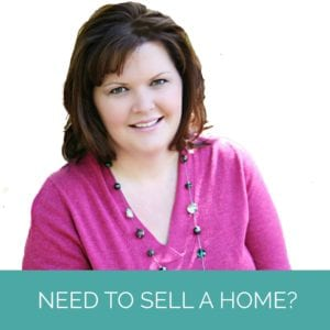 """Erica Stietenroth, a Katy Texas Real Estate Agent, is wearing a pink shirt and smiling. Banner reads """"need to sell a home"""""""