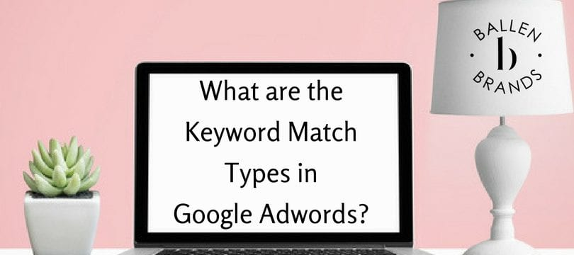 Keyword Match Types in Google AdWords Campaigns