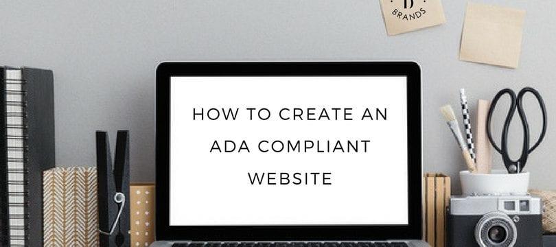 ada compliant website test