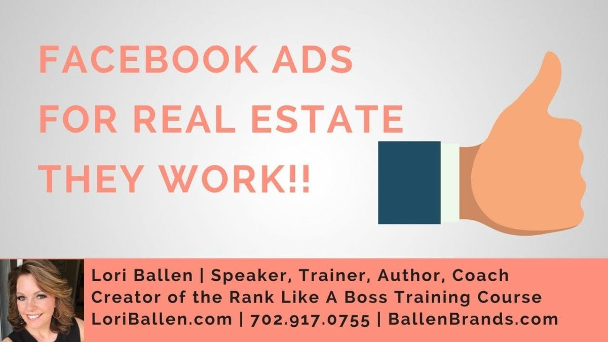 46 Cents Per Lead 10 Cents Per Click Real Estate Ads On Facebook