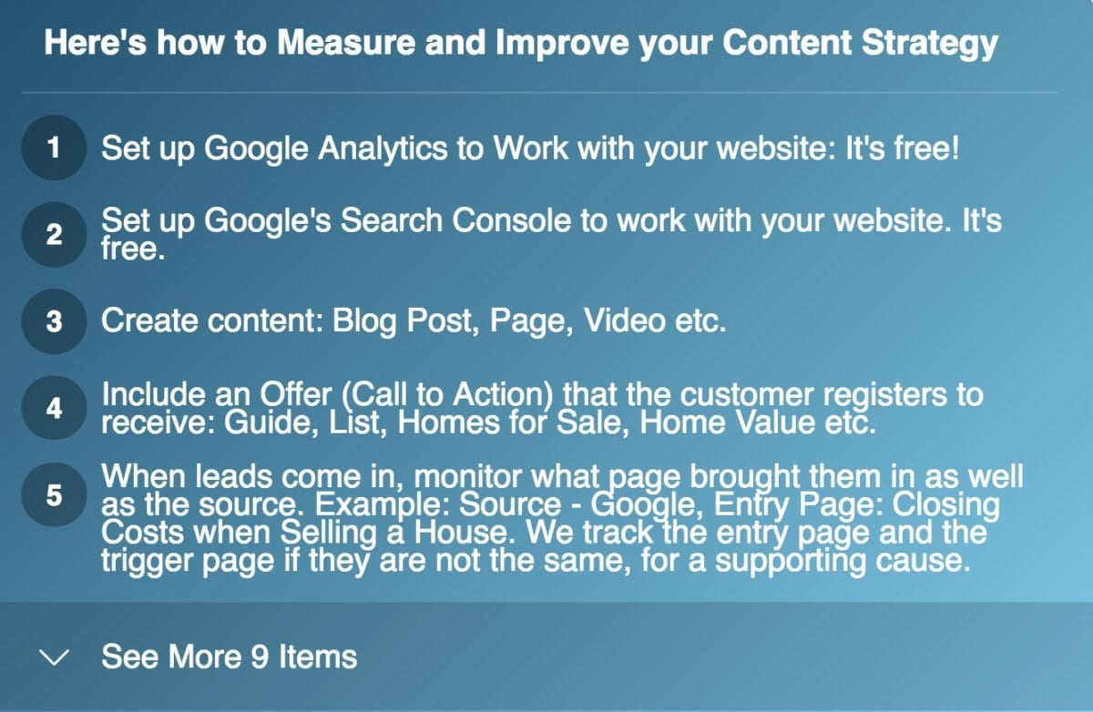 Step by Step List on How to Improve your Content Strategy