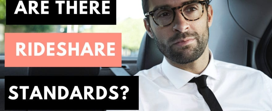 Rideshare Standards of Service and Expectations