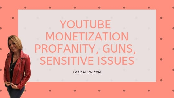 In this video, the people at Creative Insider at youtube bring you an important update regarding Youtube Monetization Guidelines where it involves guns, sensitive events, and profanity.