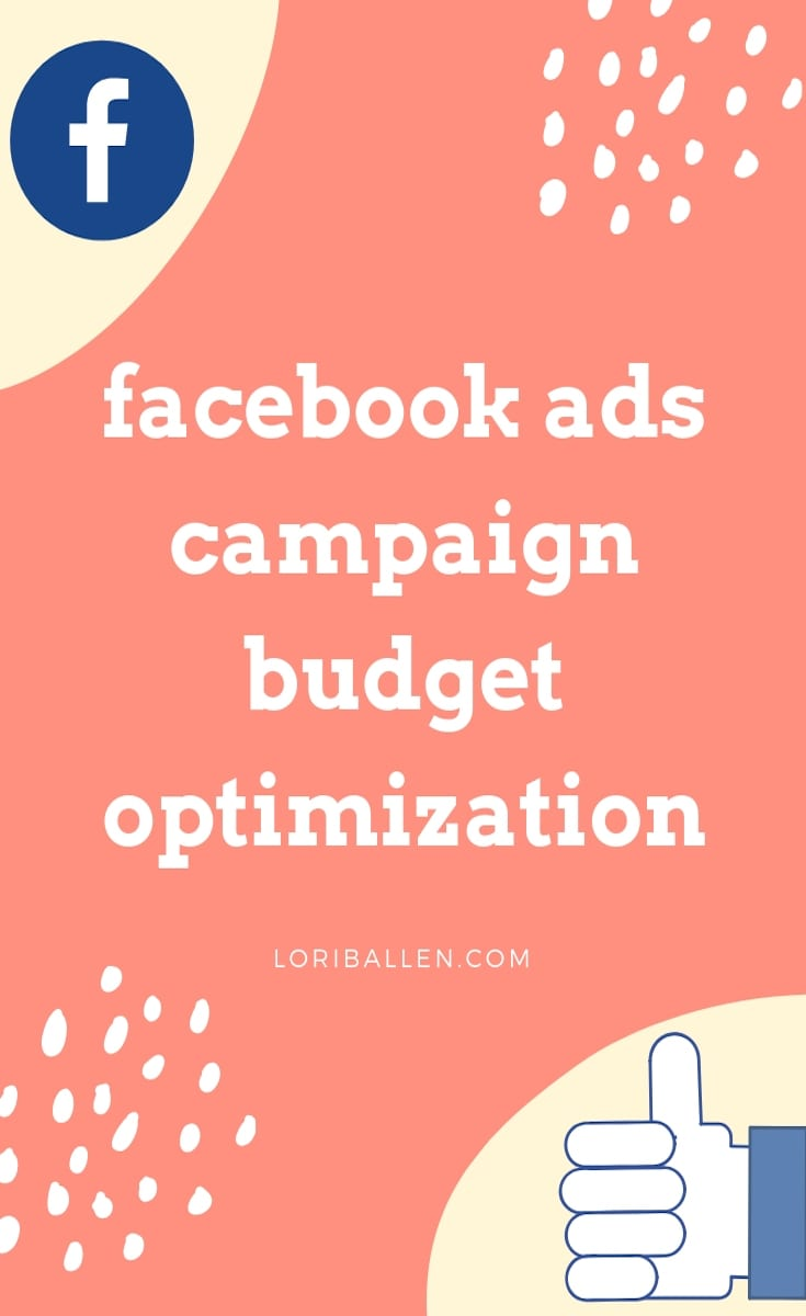 Facebook offers campaign budget optimization for ad campaigns to allow more of the budget to be spent on the top performing ad set. This is done automatically and continuously. While you can still set minimums and maximums on daily and lifetime budgets, Facebook can now spend less on your behalf on underperforming ads and more on ads achieving better results.