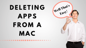 You can easily delete an app from your Mac computer that you are not using by using finder and moving to trash. Easy.