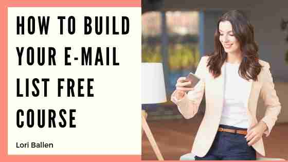 E-mail is certainly not dead. The gloom and doom of digital change is preached often. Here's a Free Mini-course on how to grow your e-mail list. I can tell you first hand that e-mail is still a huge part of a marketing plan. Of course, the segmenting audiences, and creating the right message for the right audience is key.