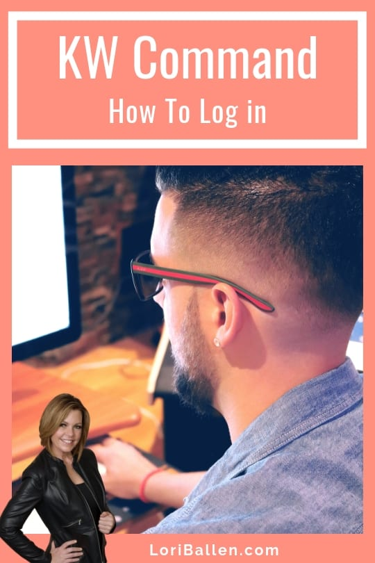 Here's how to log in and access KW Command, the Keller williams Real Estate Agent Platform