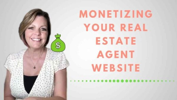 I didn't know I was going to make money on my real estate agent website outside of real estate sales. I was building a website to grow my real estate business and suddenly I was able to monetize all of that work in other ways. Now, I can teach you how to monetize your real estate agent website.