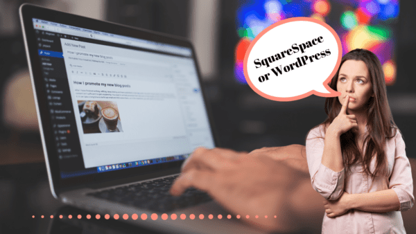 I've been building websites for years. As a blogger and 6-figure affiliate marketer, the website I use matters. Today, I'll compare WordPress vs. Squarespace although, in my opinion, they are very different platforms.