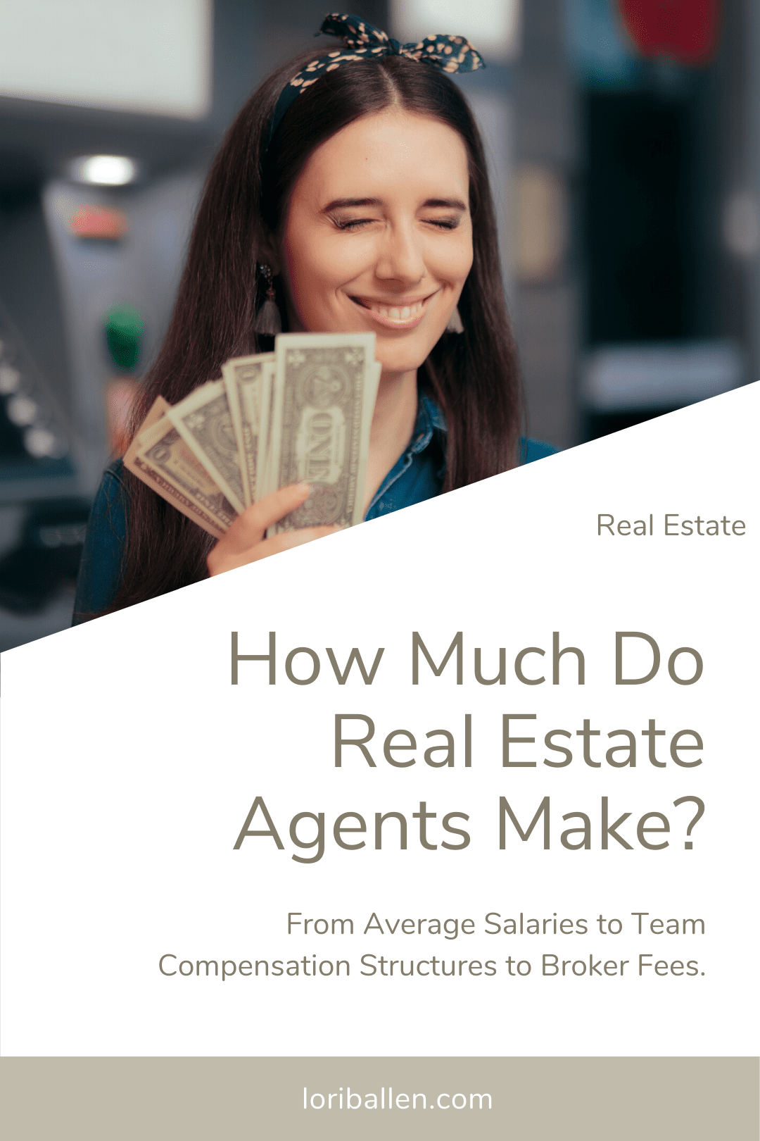 Learn how much real estate agents make as solo agents and on a team