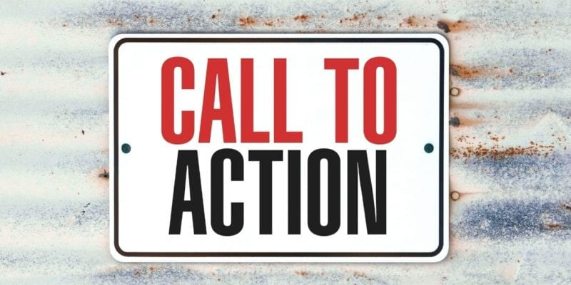 """The call to action is defined as """"an instruction to"""" aiming to incite an instant response from the target audience. They include """"call now"""" or """"click here"""" it leads the reader to take some action."""