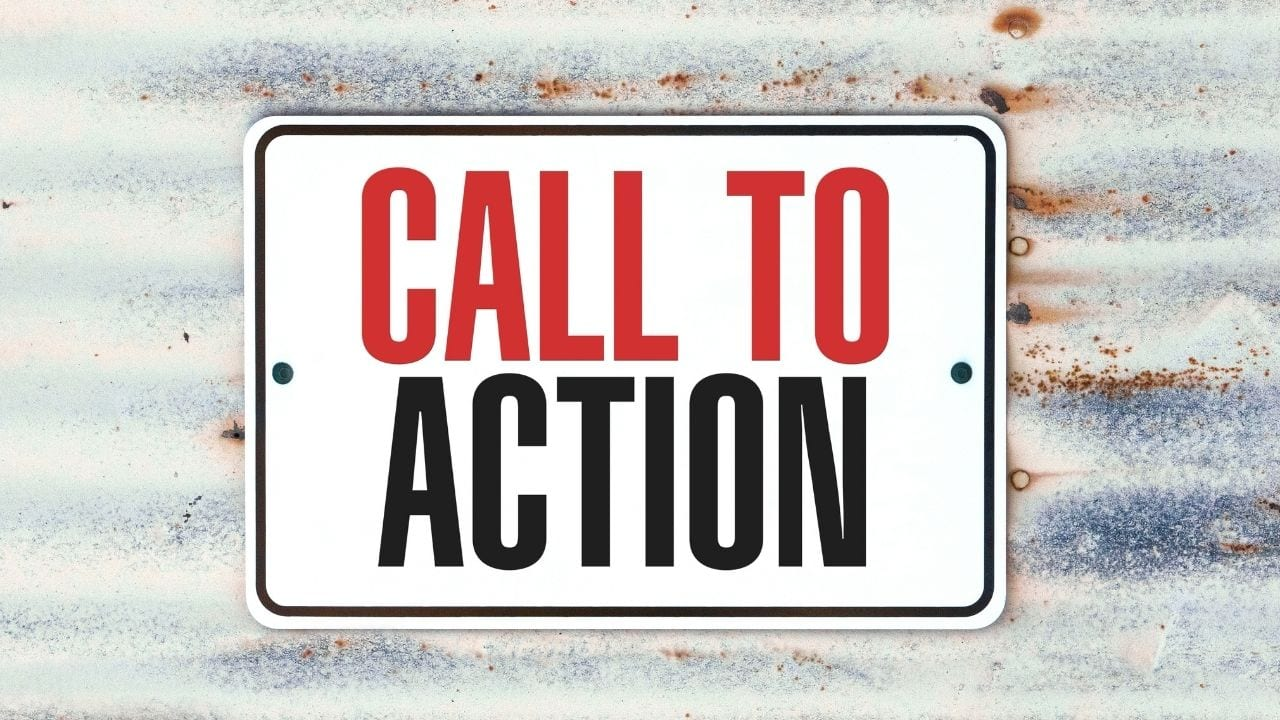 "The call to action is defined as ""an instruction to"" aiming to incite an instant response from the target audience. They include ""call now"" or ""click here"" it leads the reader to take some action."