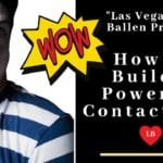 Clown face looks shocked with WOW burst next to his face and words say how to build a powerful email list by Lori Ballen