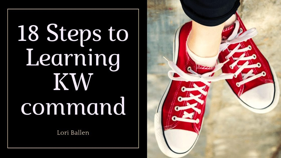 Hi, I'm Lori Ballen. I have a real estate team in Las Vegas, NV. I spend all of my time in lead generation and coaching on real estate marketing. I have 7 streams of income all generated from the same methods, and real estate is one of them. Below, you'll find my 90-minute video on getting to know KW command (marketing components). Enjoy this guide.