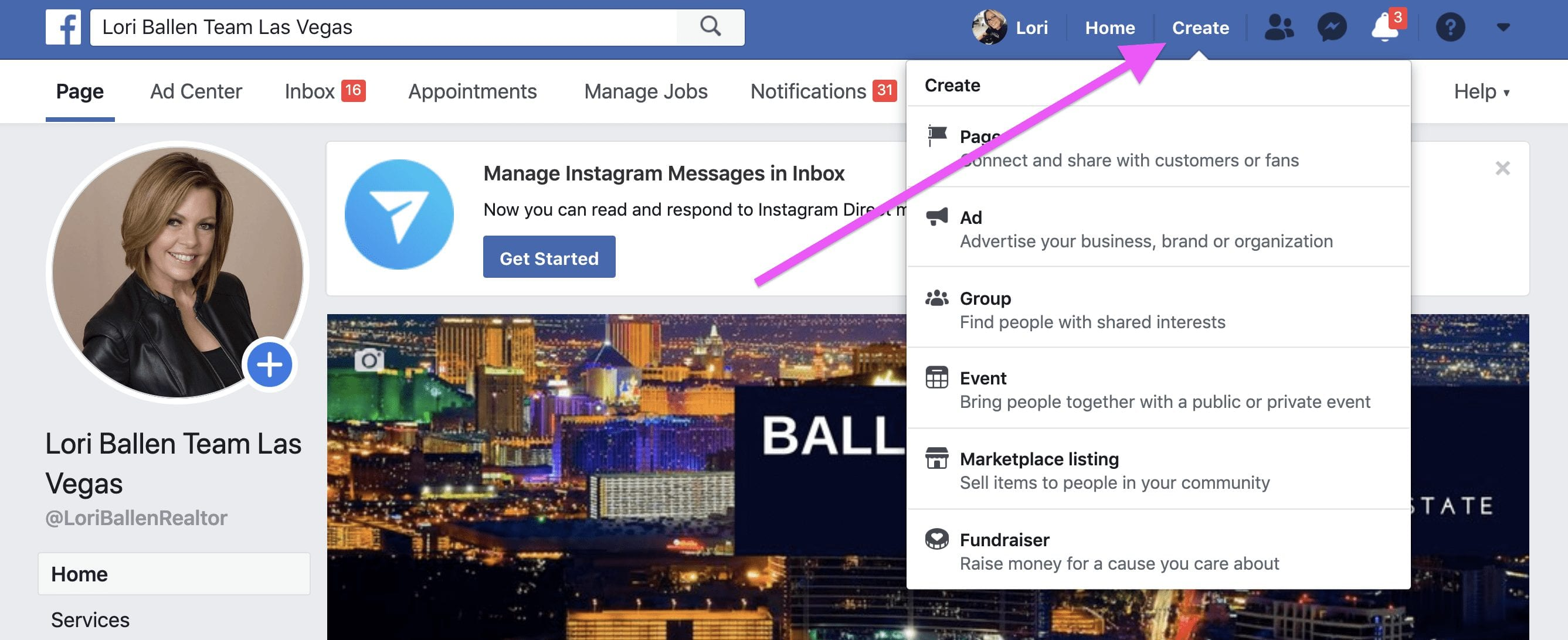 How to Create a Facebook Ad on your Facebook Business Page