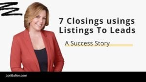 She is in our mastermind group, started posting some really good success that she was having with the system and I thought it'd be nice to bring her on the webinar to share some of her maybe her tips or insights on using listings to leads to grow her business