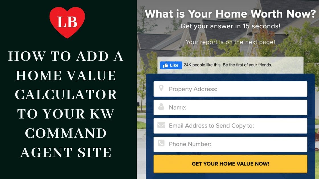"""I generate seller listing leads from the web by blogging, ranking on the search engines for seller topics, and then embedding a home value widget from listings to leads on the page"""" - Lori Ballen, Las Vegas Real Estate Agent"""