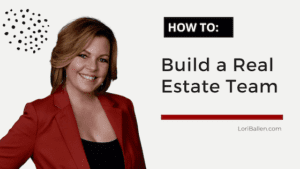 In this article, you'll learn the various models and how to build a real estate team.