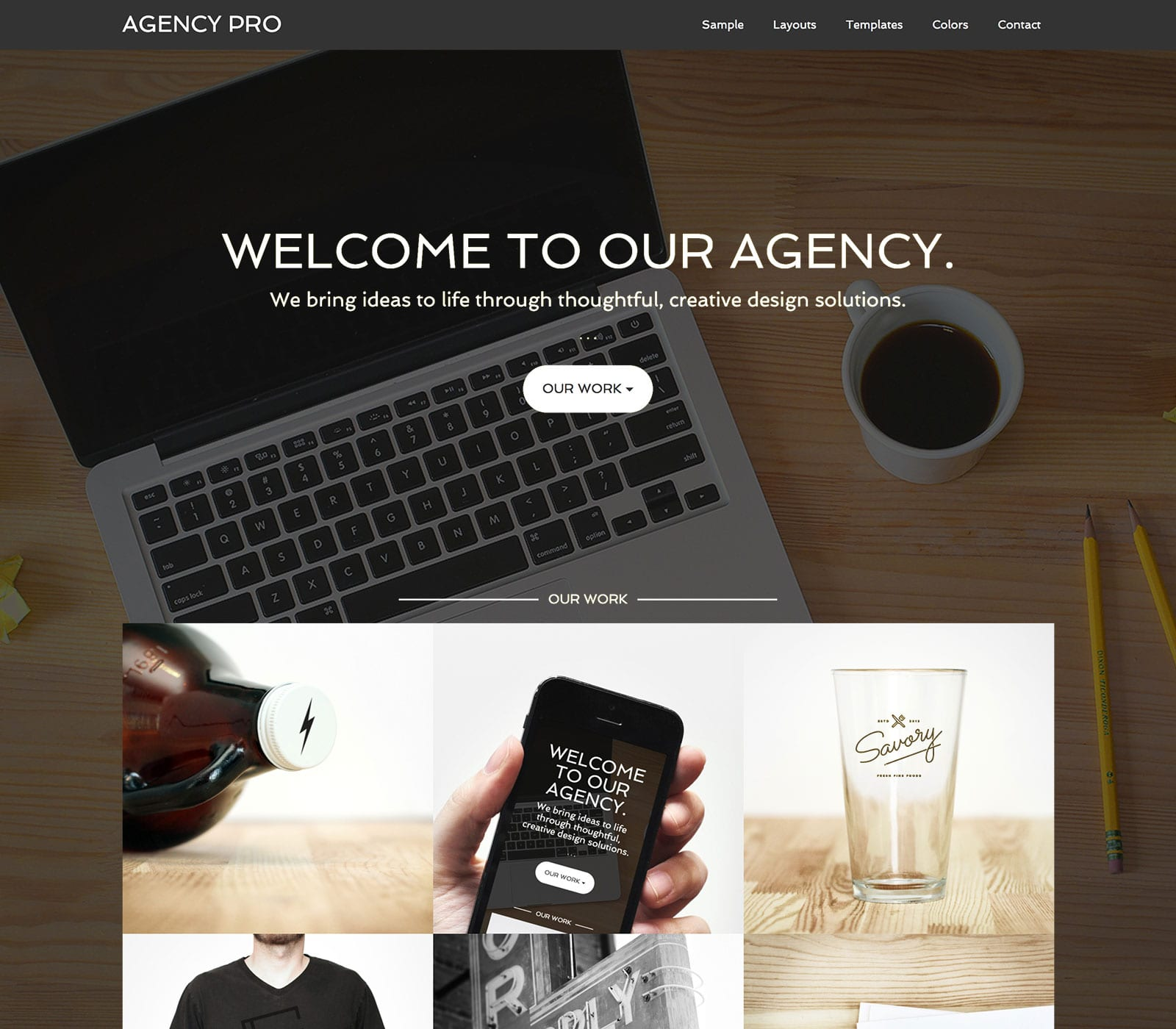 Agency Pro is a streamlined professional that presents your services with clarity and confidence. Make a great first impression for your agency with this smart looking and easy to use Studiopress Child Theme.