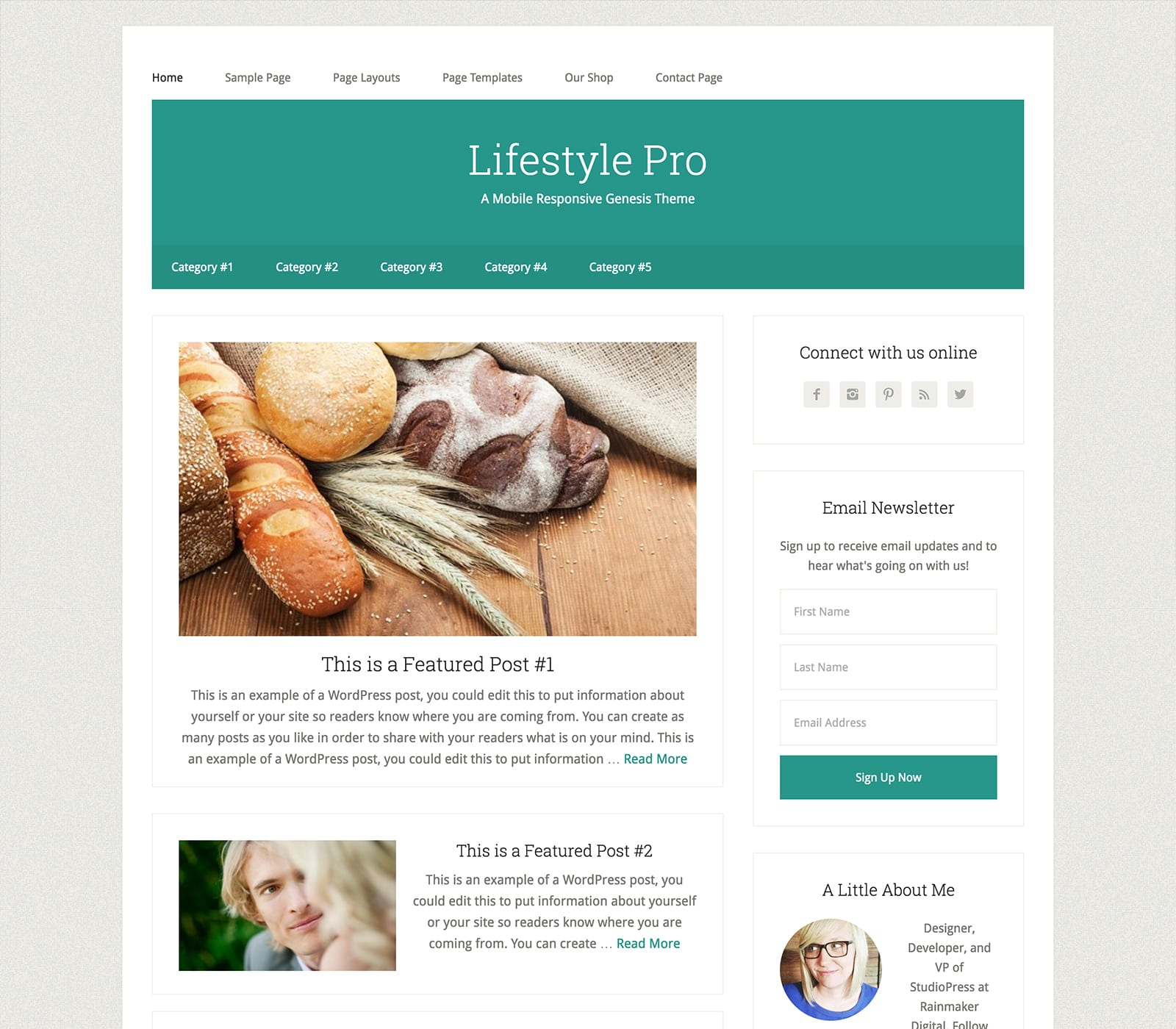 LIfestyle Pro offers a magazine-style frame with style and flexibility. It offers a clean design with smart layouts and design options. It's ideal for lifestyle bloggers and niche websites designed to submit a library of articles.
