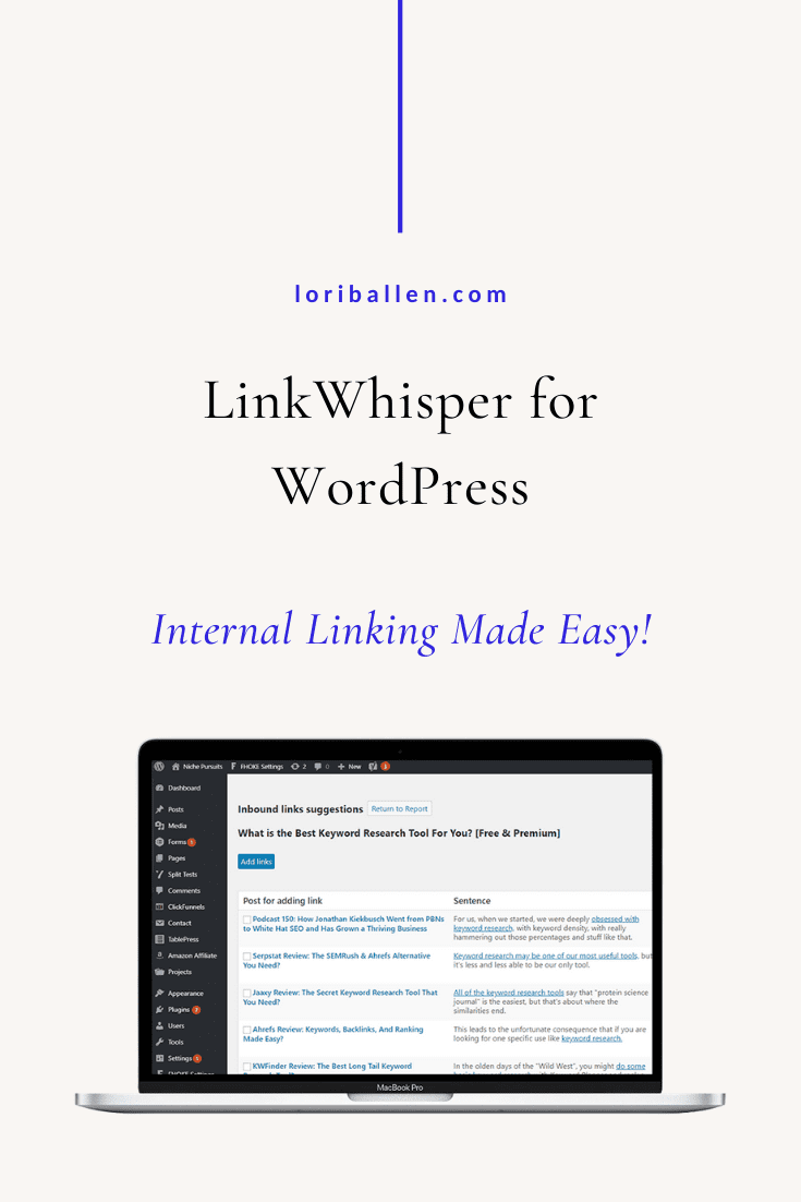 In this guide, you'll learn how to install, activate and use Link Whisper for an improved internal linking strategy. Grab your Link Whisper software here, download the zip file and follow the instructions below.