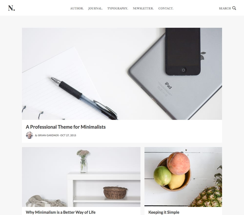When you're ready to take things down to the basics, you're ready for No Sidebar. No Sidebar is more than just a theme. It's an uncluttered approach to life, content, and design and offers a minimalist theme and maximum impact.