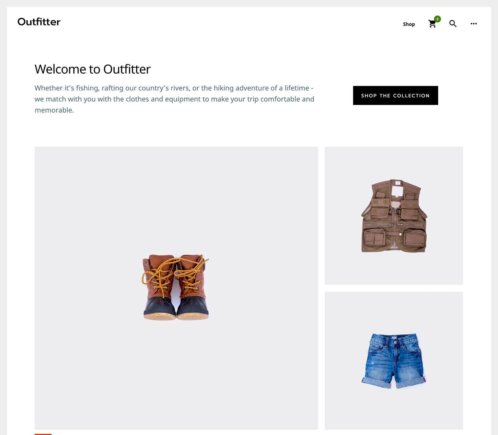 Outfitter Pro is a great theme for WooCommerce websites. Many choose WooCommerce to build their online store. It features a masonry-style display for products. Drive more sales with the intuitive checkout process. A website featuring products for outdoors, hunting, camping, travel, and sports may appreciate Outfitter Pro.
